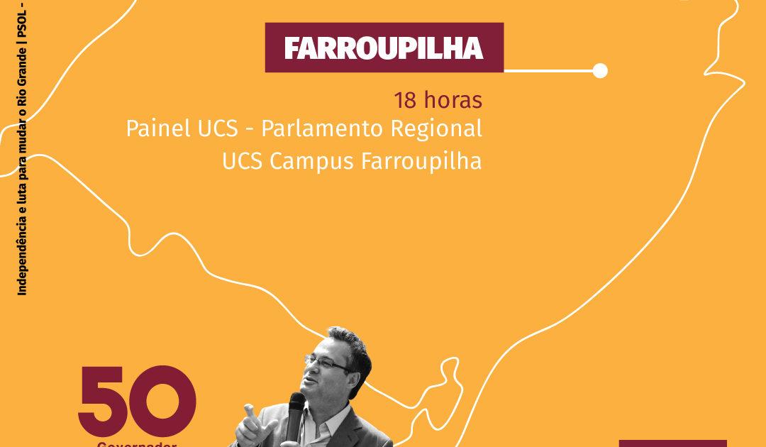 Roberto Robaina estará em Caxias do Sul e Farroupilha nesta quinta-feira (30)