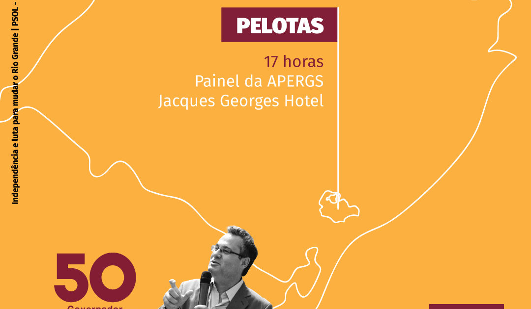 Roberto Robaina estará em Camaquã, Rio Grande e Pelotas nesta sexta-feira
