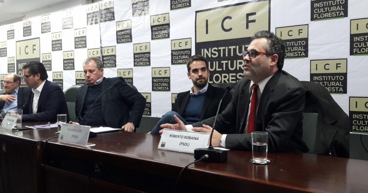 Estado precisa recuperar capacidade de fazer política de segurança pública, afirma Robaina em debate