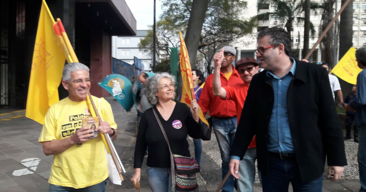 """Robaina na Serra: """"Não sou candidato a governador para ser representante dos grandes empresários"""""""