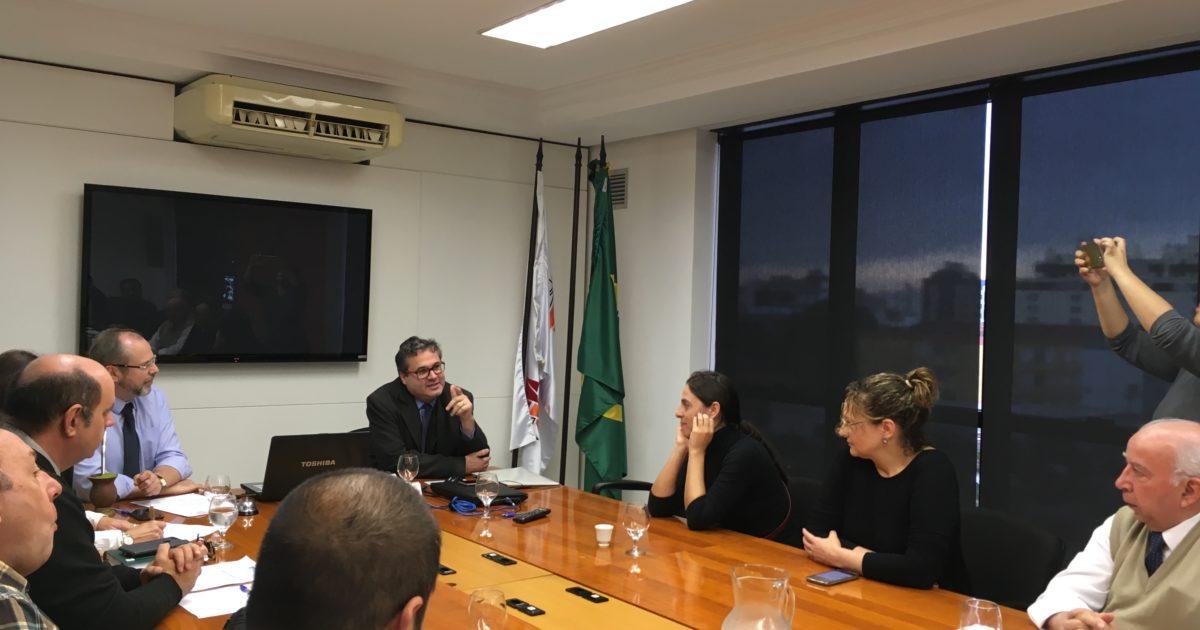 Roberto Robaina participa de reunião com a União Gaúcha para defender previdência com foco social e econômico