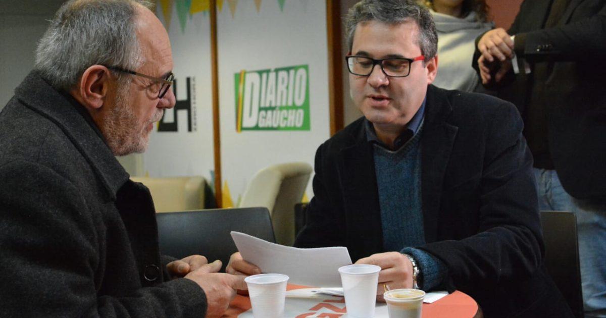 Agora é 50! Robaina na Rádio Gaúcha dá início à campanha eleitoral