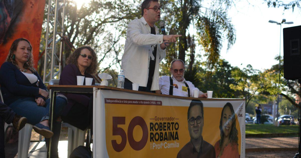Ato na praça Brigadeiro Sampaio marca campanha do PSOL e do PCB no sábado