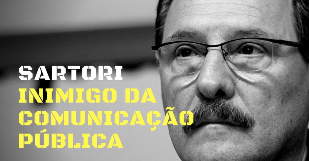 Sartori: o inimigo da comunicação pública