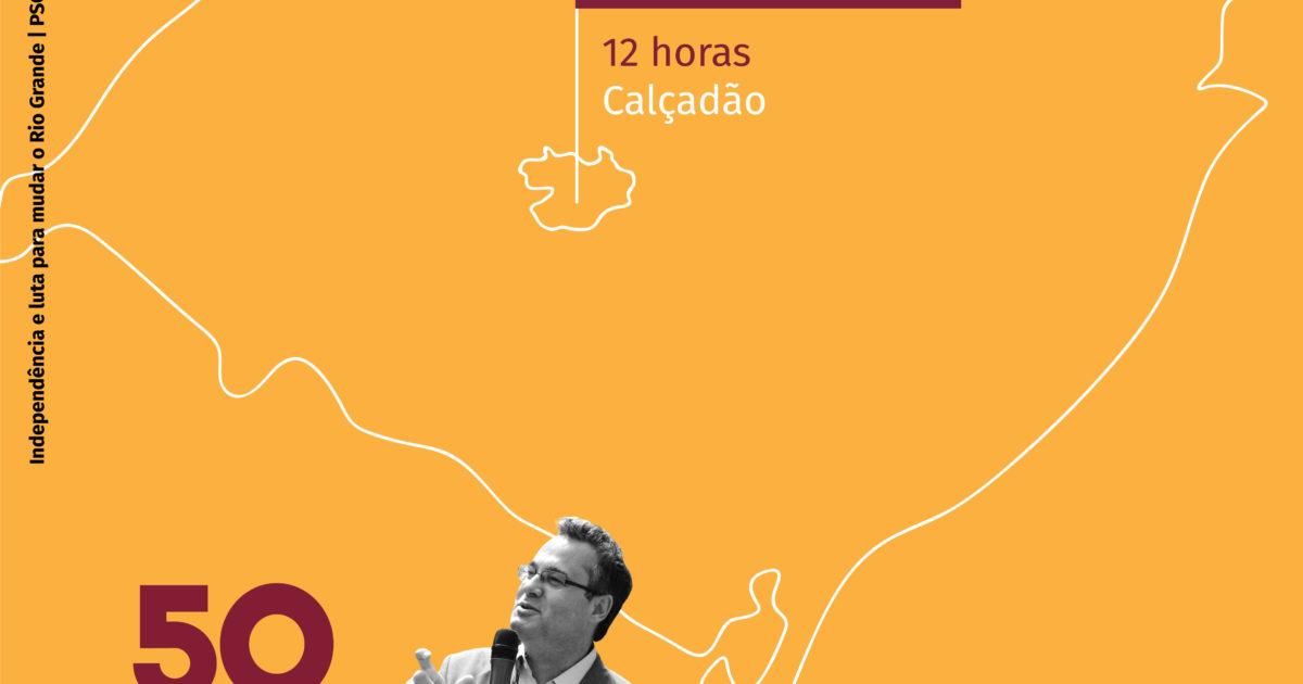 Roberto Robaina estará em Santa Maria nesta terça-feira (11)