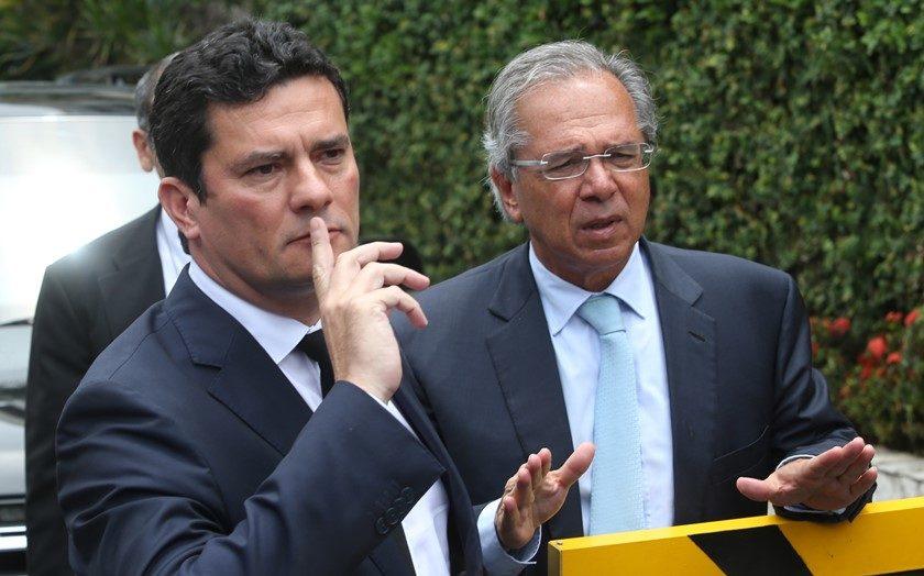 Sergio Moro de ministro de Bolsonaro
