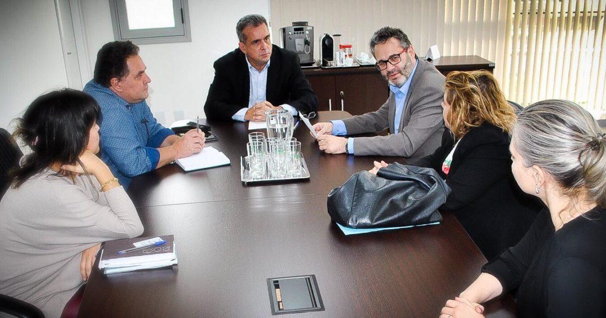 Apresentamos à Procuradoria do Trabalho a situação precária de terceirizados do HPS