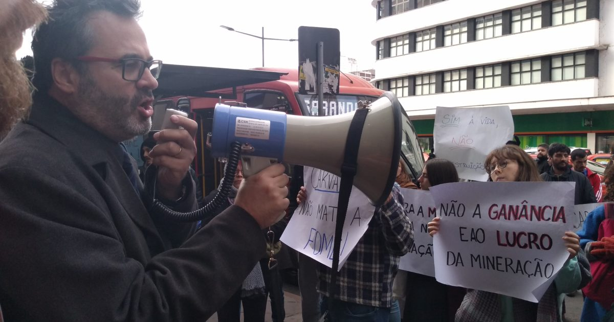 Alô, Fepam! Porto Alegre quer debater a mina de carvão