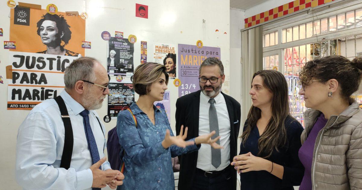 PSOL e PCdoB discutem eleições de Porto Alegre
