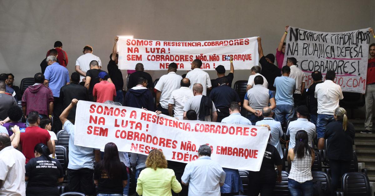 Vamos defender o emprego dos cobradores: NÃO ao projeto de Marchezan